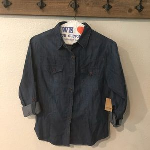 Tops - Chambray shirt